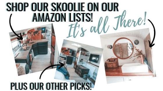 Shop the Since We Woke Up Skoolie on Amazon! | Since We Woke Up | sincewewokeup.com