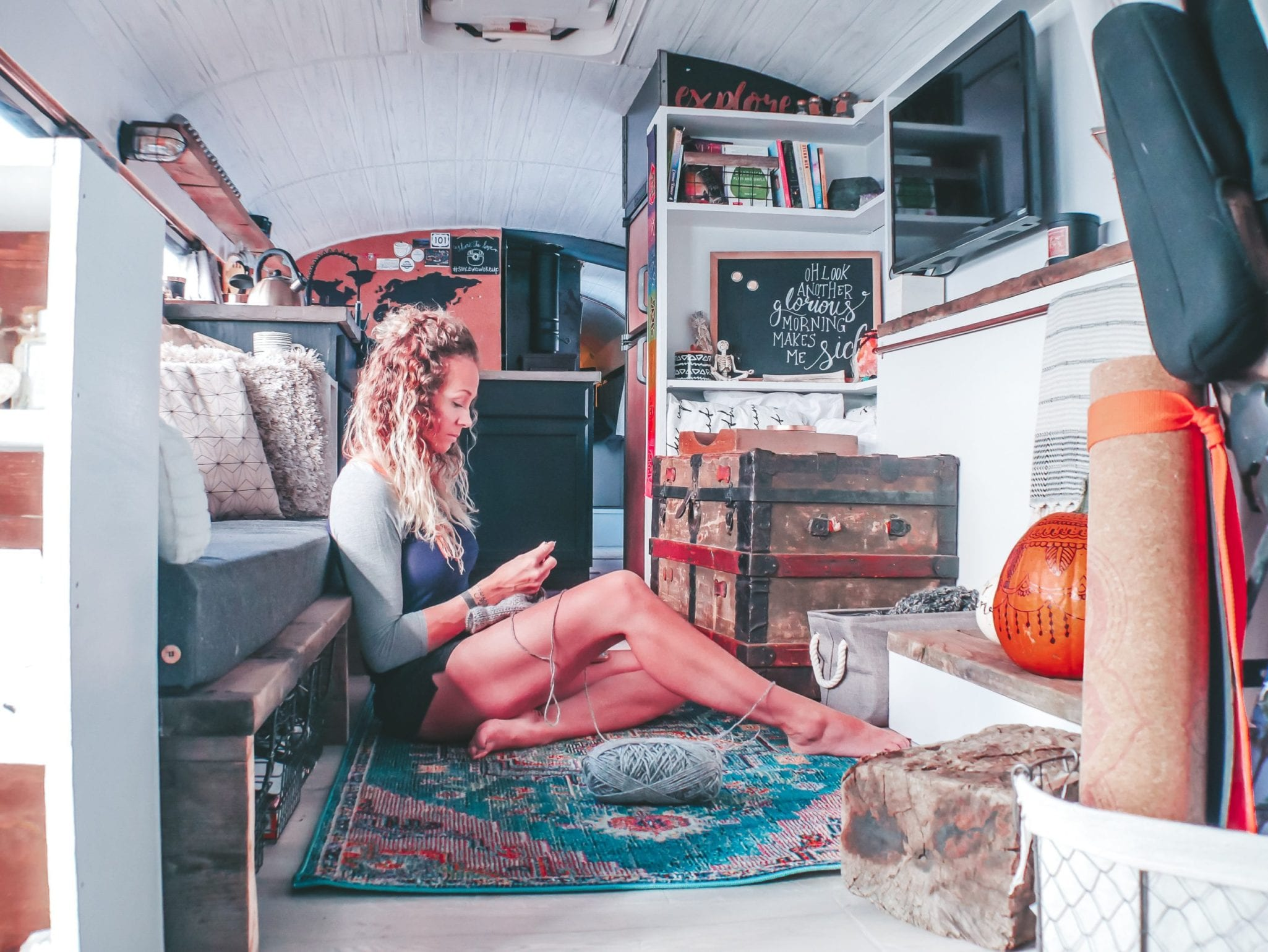 People are always curious about bus life. These are some of the more ridiculous questions we've been asked about bus life. | Since We Woke Up | sincewewokeup.com