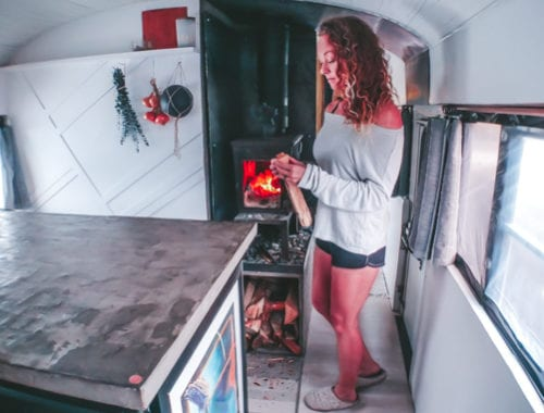 Fire safety in tiny homes should be taken seriously. Click to learn why tiny homes are prone to fires and how to stop them! | Since We Woke Up | www.sincewewokeup.com